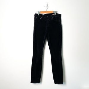 Gap Black Modern Stretch True Skinny Corduroy Jean